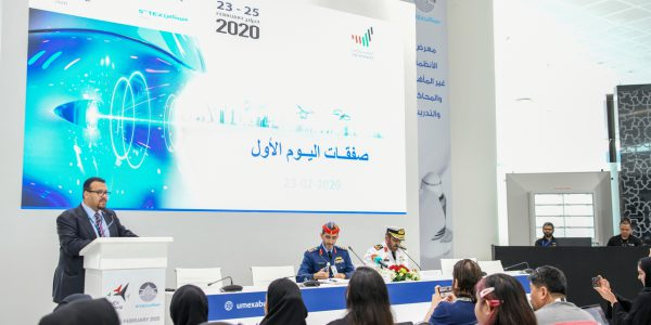 Deals on the first day of UMEX and SimTEX 2020 exceed AED 156 million